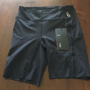 Lululemon x Barry's biker shorts